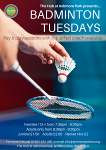 Badminton Sessions